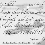 Tips to a happier you in 2012~Acceptance in Christ (You are not what you eat)