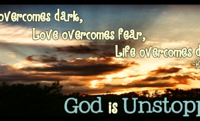 """Unstoppable"" by Kirk Cameron {…and a Facebook Friday Timeline Cover}"